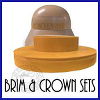 hat blocks australia Brim & Crown Sets Icon