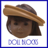 hat block design Doll Blocks icon